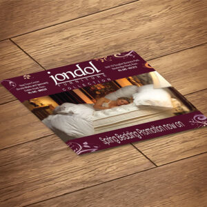 A7 Leaflets / flyer printing with optional design
