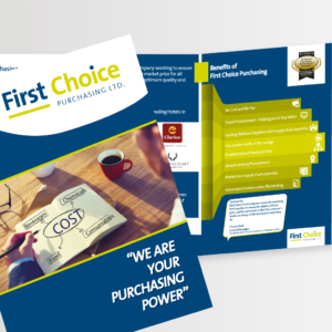 A5 6pp brochure printing and design