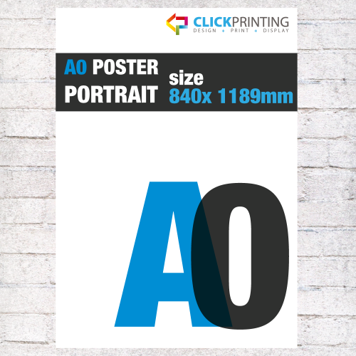Poster printing A0 | Design & Printing Dublin