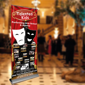 Roll Up Banner Stand - Surpreme Model - top quality banner stand superior