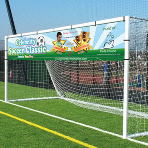 PVC Banners for outdoor and indoors are printed on heavy pvc flexible material and are complete with eyelets for hanging. Clickprinting.ie also provide design for your banner.