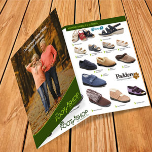 A4 6pp Brochures / folded leaflet printing and design | A4 Menu Design Printing Dublin | Kildare | Cork | Galway | Kerry