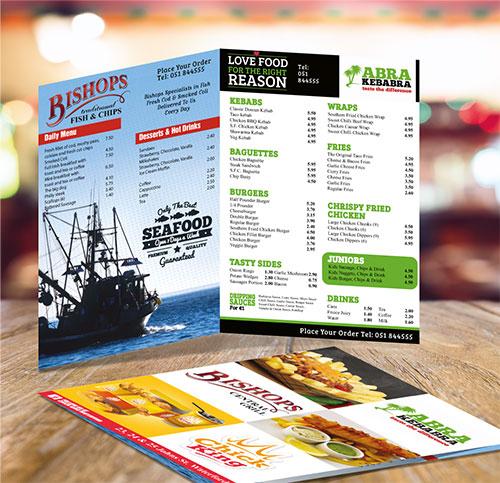a5 4pp brochure folded leaflet printing