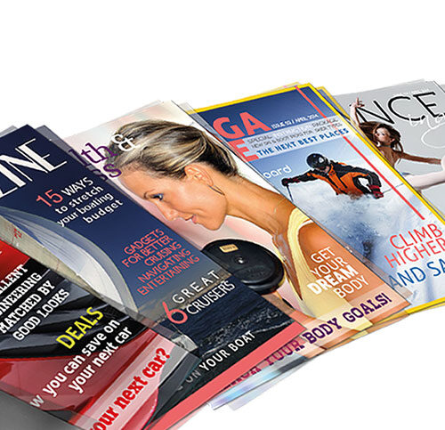 A5 Magazine printing cover_on_300gsm_inner_on 130gsm